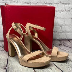 Kelly & katie Sarafine Platform Sandal